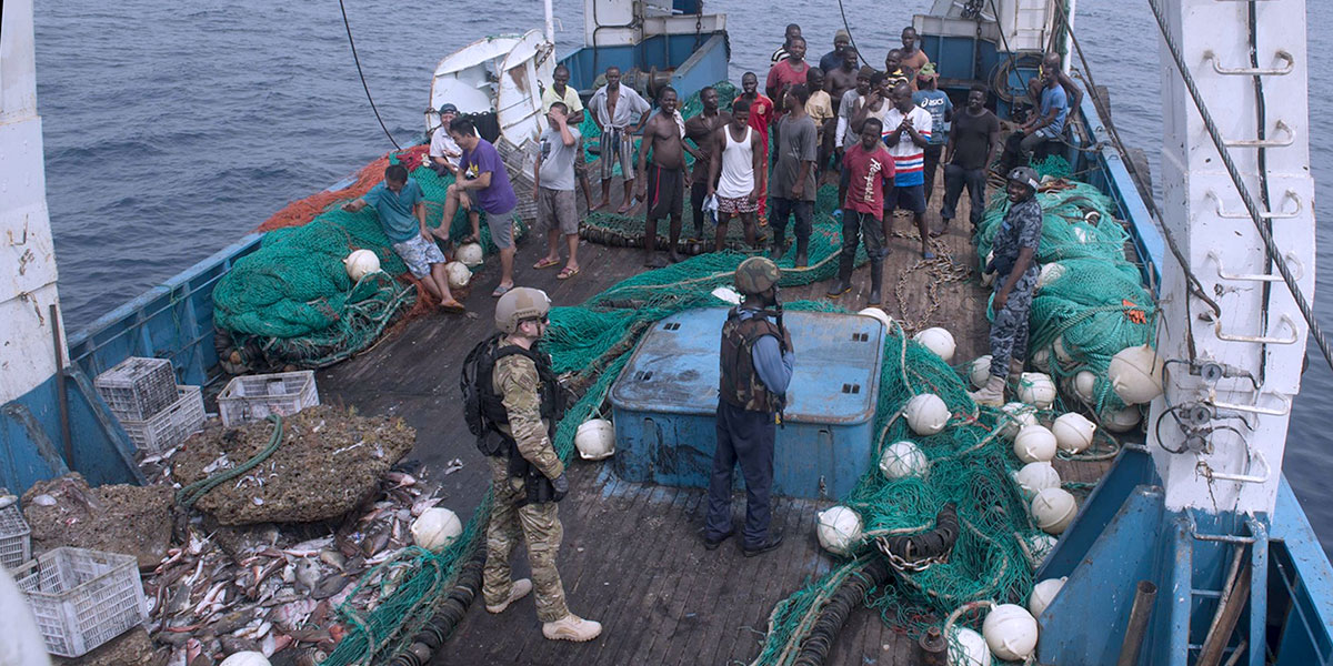 Fisheries crime interferes with sustainable livelihoods