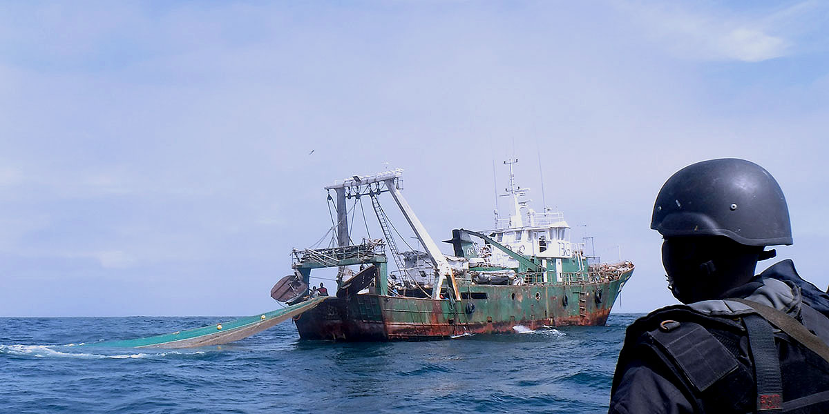 Fisheries crime deprives coastal states of foreign income
